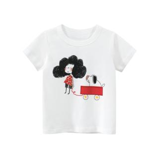 [ VIDEO ] F113 Áo thun bé gái 27KIDS chất liệu 100% cotton in hình TÓC XÙ cho bé từ 10-33kg (2 tuổi -10 tuổi ) an toàn mềm mịn thích hợp cho bé đi học đi chơi thumbnail
