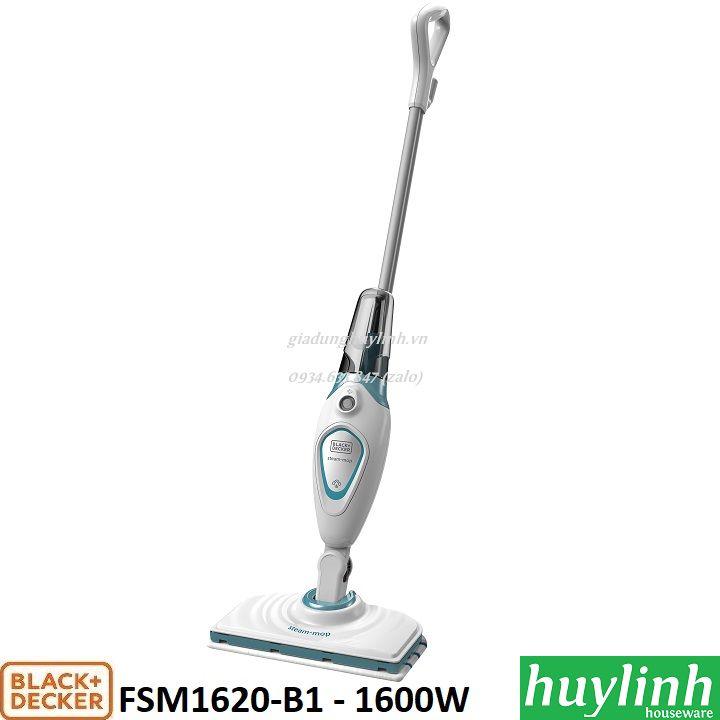 Máy lau sàn hơi nước Black Decker FSM1620-B1 - 1600W