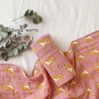 [Aden] Khăn 100% Muslin tre cho bé 0m+ cỡ 125x125cm - Muslin Tree Blanket For Baby - MIESHOP thumbnail