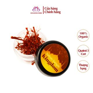 [QUÀ TẶNG NHỎ VÔ GIÁ] Saffron Kingdom Herb nhụy hoa nghệ tây Iran super negin thượng hạng hộp 0.1 gram (mẫu thử) thumbnail