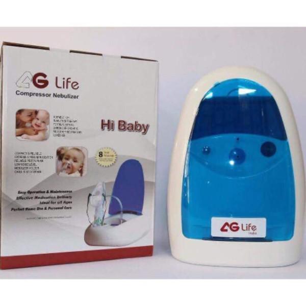 Máy Xông Và Hút Mũi Họng 2 Trong 1 Ag-Life Hi Baby Thế Hệ Mới Có Đồng Hồ Áp Suất cao cấp