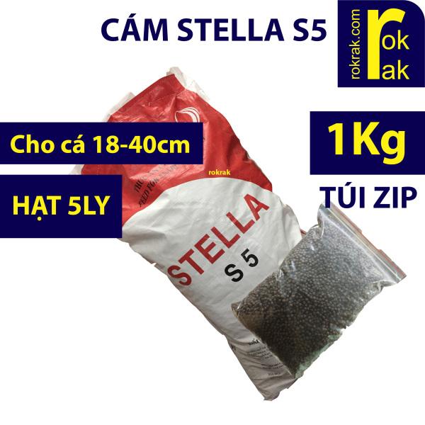 Cám Stella S5 Bao chiết 1Kg Thức ăn cho cá Koi