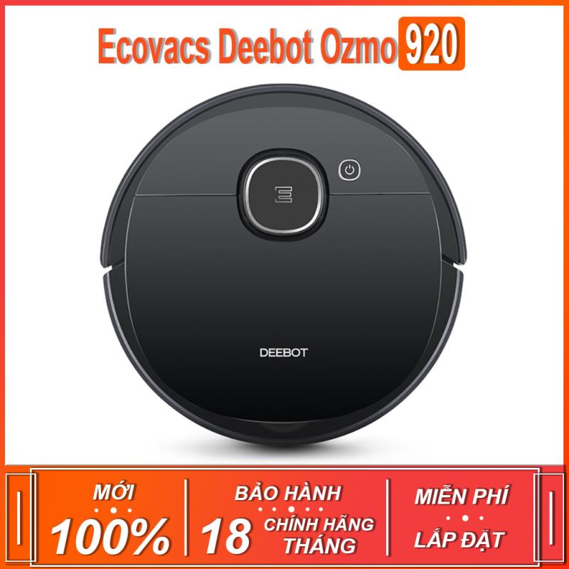 Robot hút bụi , lau nhà thông minh Ecovacs Deebot Ozmo 920 ( BẢN QUỐC TẾ - BẢO HÀNH 18 THÁNG )