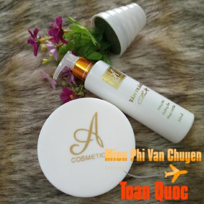 Combo tắm trắng và kem body mềm A  giúp dưỡng trắng da toàn thân ( hỗ trợ phí ship toàn quốc)