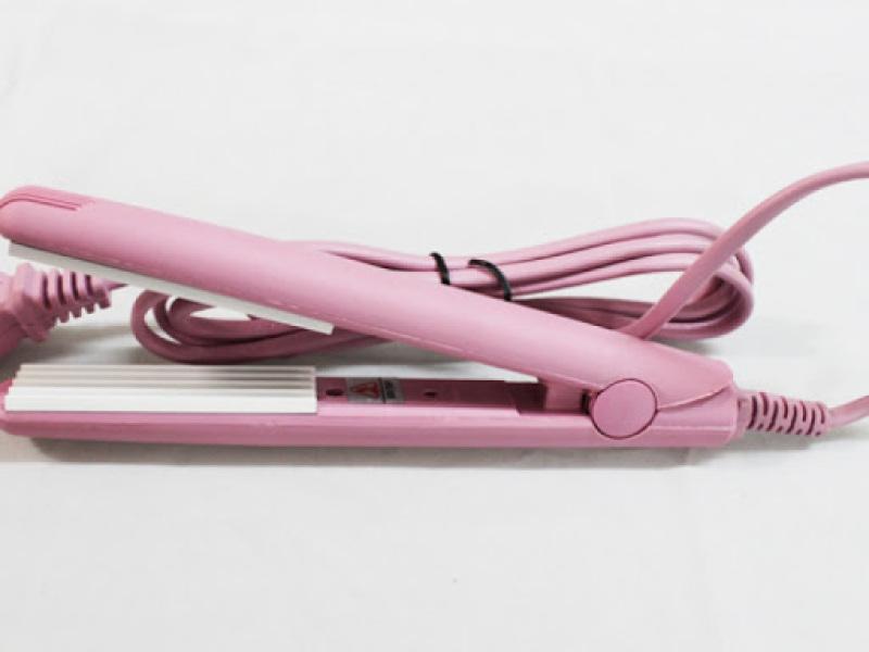 MÁY BẤM TÓC MINI, Máy Bấm Tóc Mini máy dập xù mini, Máy bấm tóc mini màu hồng , Máy Bấm Tóc Mini Làm Đẹp Mọi Nơi Cho Mái Tóc Của Bạn, Máy Bấm Tóc Xù Đơ Mini giá rẻ