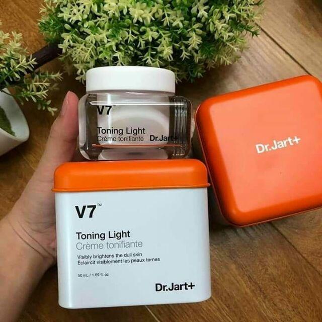KEM V7 HỘP THIẾT TRẮNG DA Dr.jart toning light