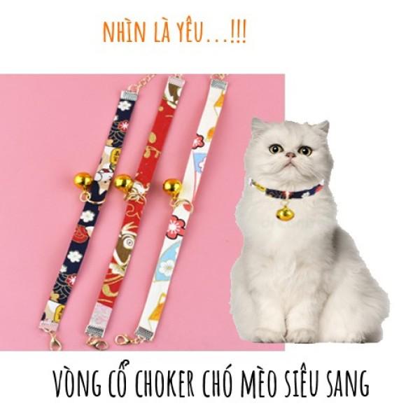 VÒNG CỔ CHOKER CHO CHÓ MÈO