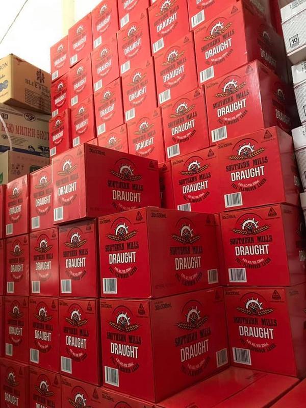 Bia Úc DRAUGHT Khuyến Mại Hot