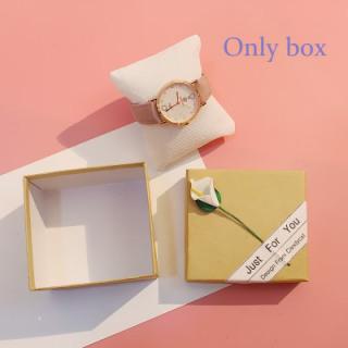 [Hot Sale] FAIRY PINK Watch Box Gift Box Decoration watch Bracelet Box Bracelet Couple Watch Box Birthday Gift 5