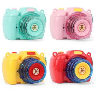 Máy ảnh thổi bong bóng có nhạc và đèn siêu dễ thương cho bé 3