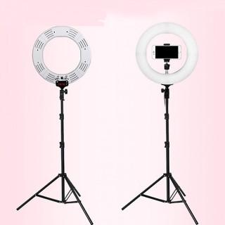 ( Hàng Có Sẵn) Bộ Đèn Livestream chuyên nghiệp giành cho Trang điểm Livestream 33CM - Bộ đèn chụp makeup studio LED Ring + chân đèn chuyên dụng-thegioisile4 thumbnail