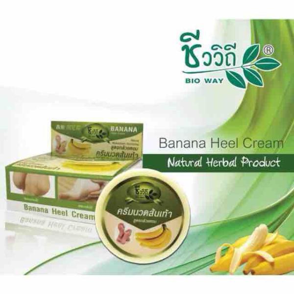 Nứt gót chân Banana heel cream