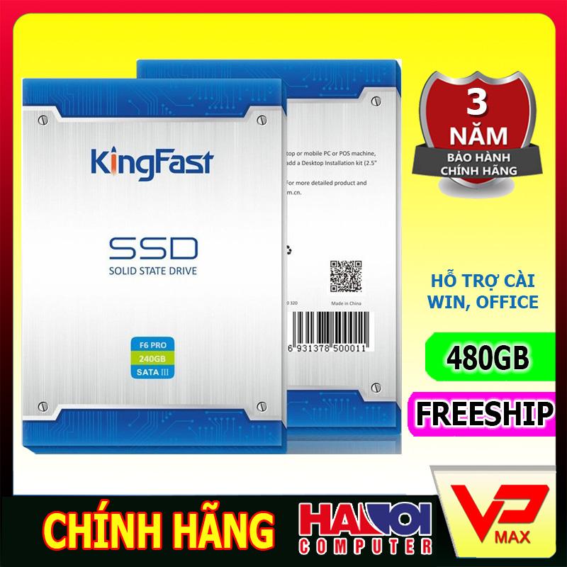 Ổ cứng SSD Kingfast 480GB BH 3 năm Hà Nội Computer