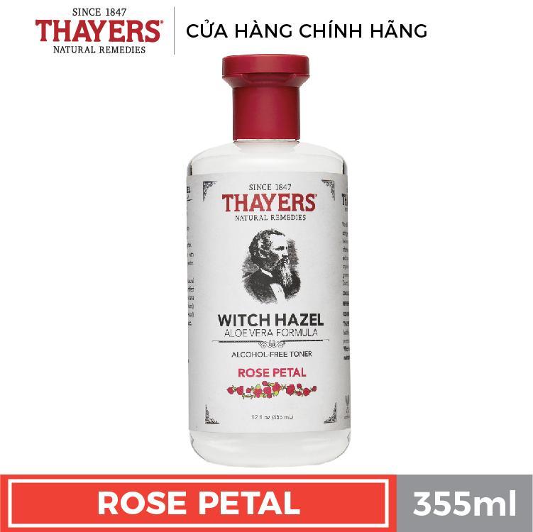 Coupon Khuyến Mại Nước Hoa Hồng Không Cồn THAYERS - Hương Hoa Hồng 355ml