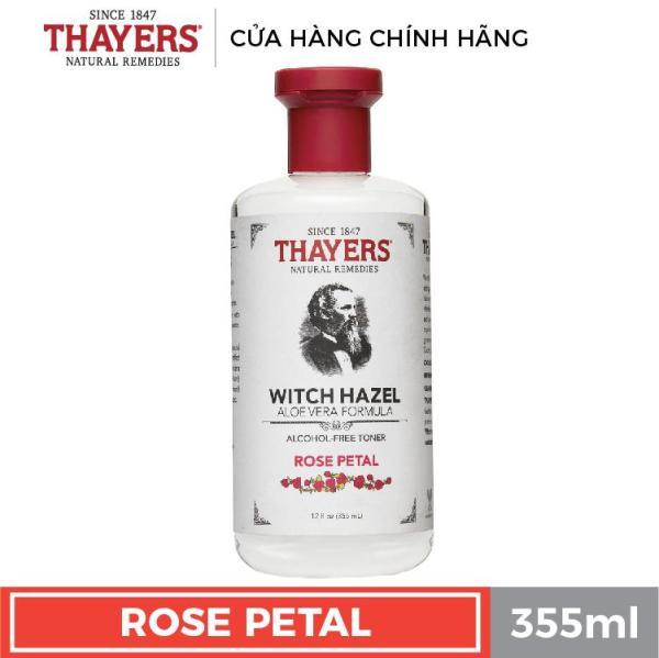 Nước hoa hồng không cồn THAYERS - Hương hoa hồng 355ml tốt nhất