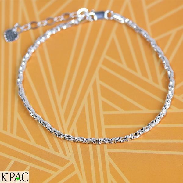 Lắc tay bạc 92,5% KPAC:  Strings (lu1118301)