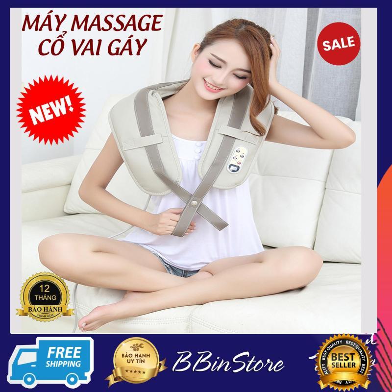 Máy massage vai loại nào dùng hiệu quả, Mua Máy massage gáy cổ chất lượng, Đai đeo mát xa lưng cổ cao cấp. Đai đeo thiết kế thông minh làm giảm các cơn đau mỏi nhanh chóng. Bảo hành 12 tháng.