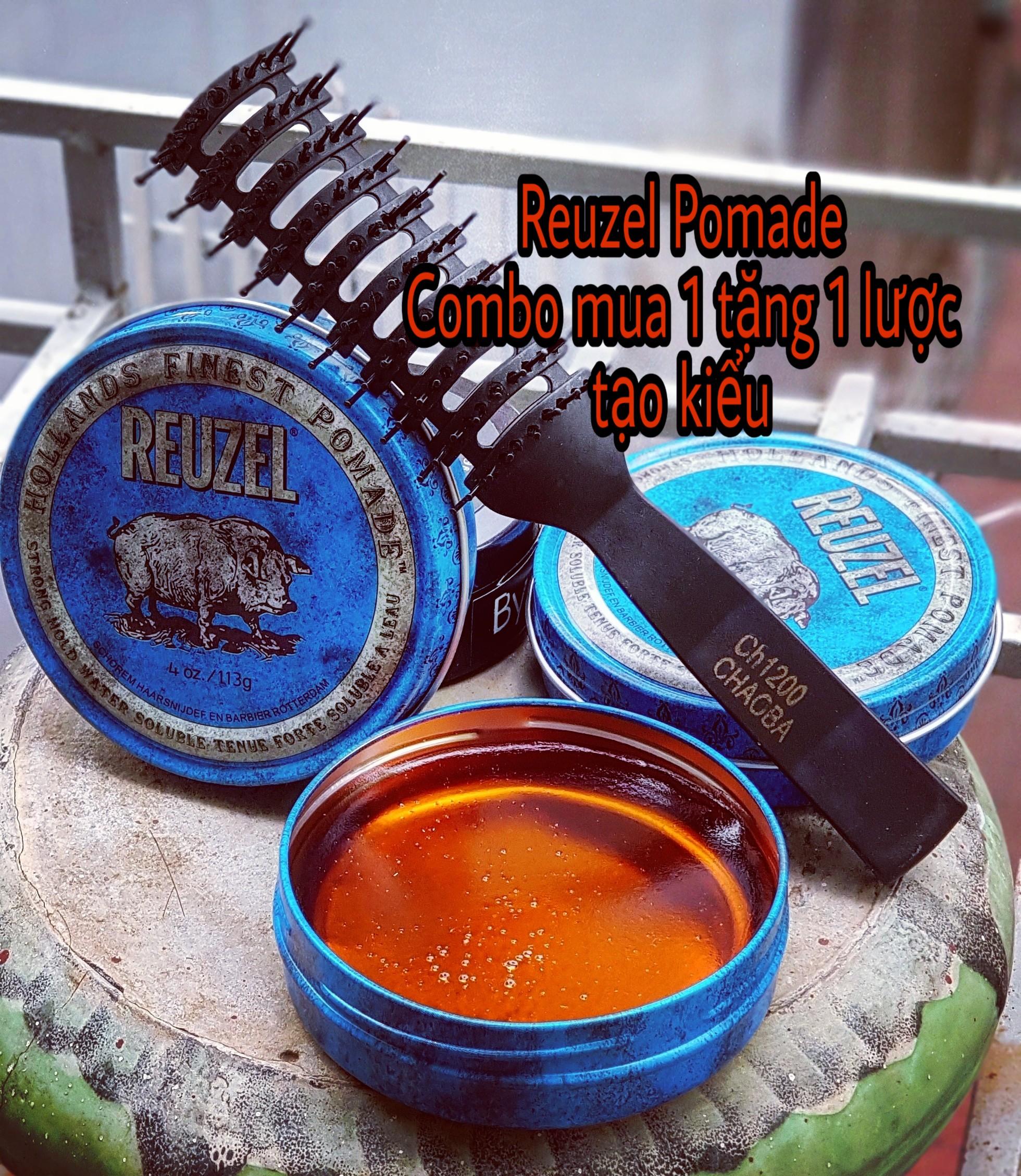 [Chính Hãng ] Pomade Reuzel Blue dành cho quý ông lịch lãm
