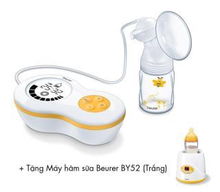 Máy hút sữa Beurer BY40 + Tặng Máy hâm sữa Beurer BY52 (Trắng) thumbnail