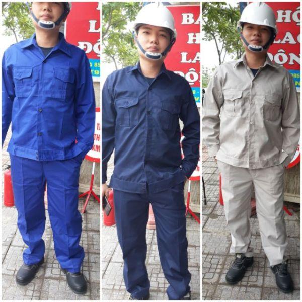 Quần áo bảo hộ lao động, Ghi Sáng, Xanh Đậm, Xanh Lam