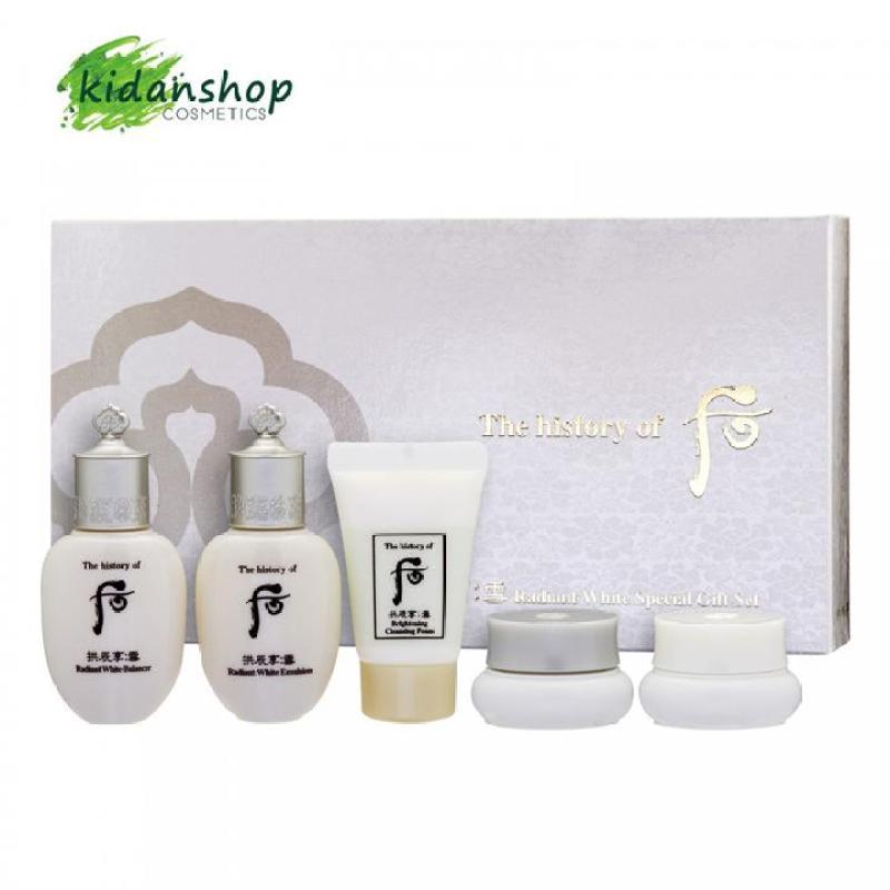 Bộ set mini 5 món dưỡng trắng da / Gong Jin Hyang Seol nhập khẩu