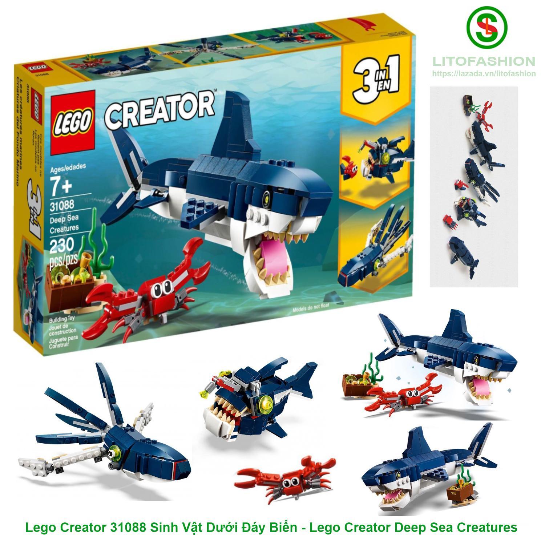 Lego Creator 31088 Sinh Vật Dưới Đáy Biển 3IN1 - Lego Creator Deep Sea Creatures Giá Tốt Không Nên Bỏ Lỡ