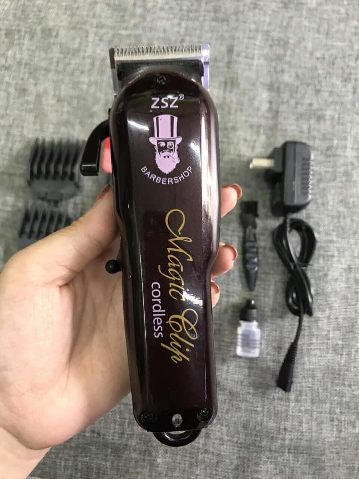 Tông đơ cắt tóc không dây chuyên nghiệp Barber Magic Clip ZSZ