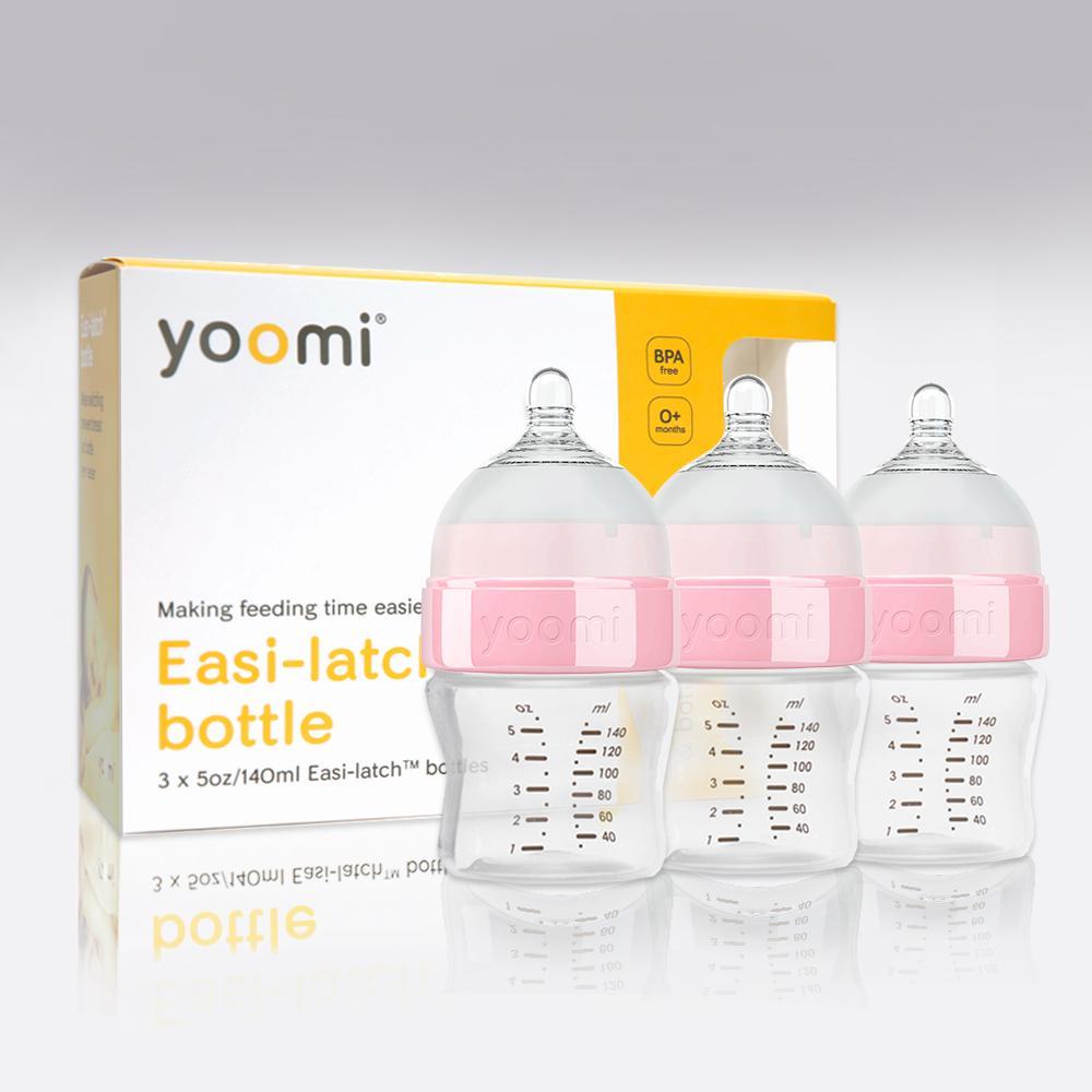 Bình sữa PP cao cấp Yoomi Y35B (bộ 3 bình 140ml)