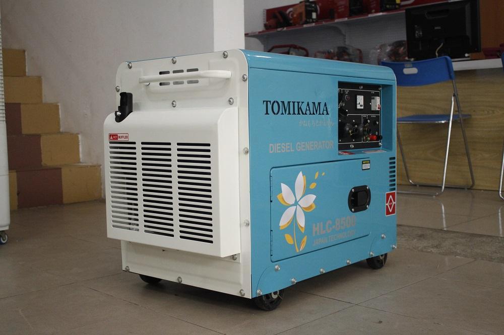 Máy phát điện tomikama HLC 8500 công suất 7.5kva giảm ồn