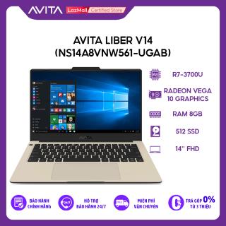[Trả góp 0%]Laptop Avita Liber V14 (NS14A8VNW561-UGAB) R7-3700U 8GB 512GB Radeon Vega 10 Graphics 14 FHD Win 10 thumbnail