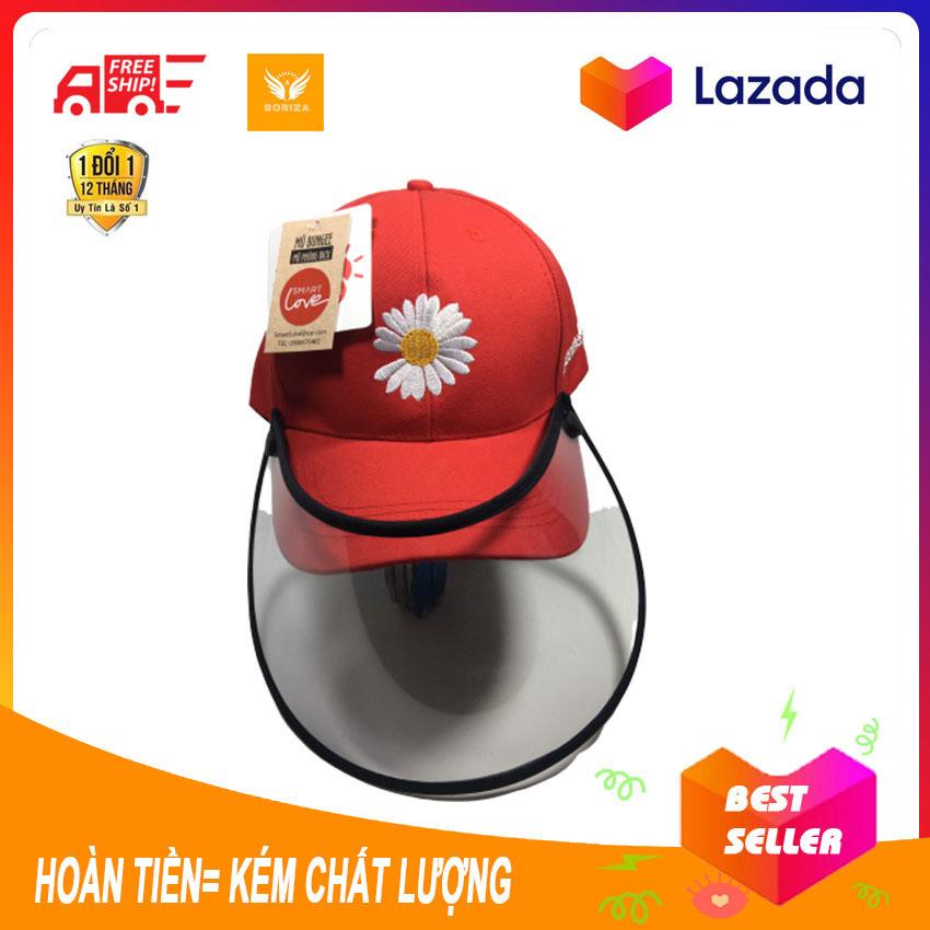 [Mũ Nón Phòng Chống Dịch Nam Nữ] - Mũ lưới trai, nón chống nắng, nón đẹp, nón bảo vệ, nón xinh, nón corona- chống bụi cho Nam Nữ dùng chất liệu an toàn sức khỏe nhật bản hàn quốc (chống virus corona) -SHOP BOX