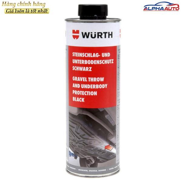 Sơn Phủ Gầm Đen Wurth 0892075200 Underbody Protection Black 1000ml