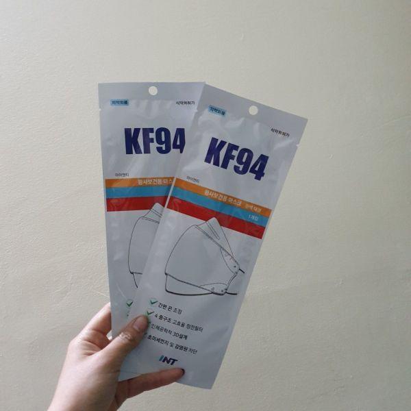 khẩu trang kháng khuẩn và chống độc Hàn Quốc KF94 size M