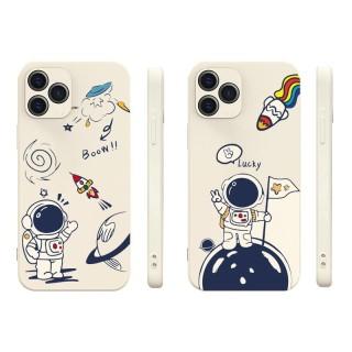 Ốp lưng iphone vuông cạnh hình du hành cho iphone 6 đến 12promax e10 shincase thumbnail
