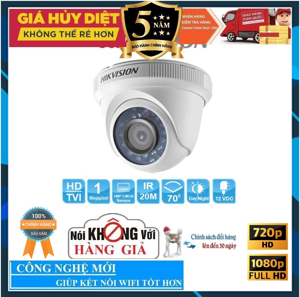 [BẢO HÀNH 25 NĂM] Camera HIKVISION DS-2CE56C0T-IRP 1.0Mp – Camera giám sát an ninh