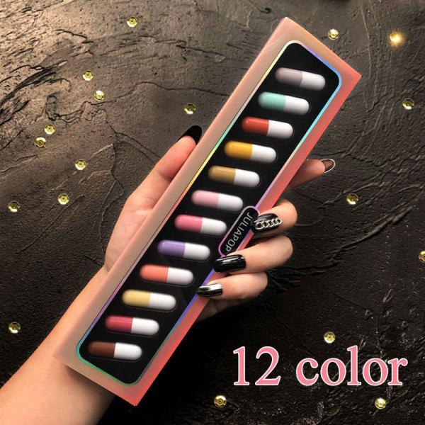 Bộ son mini 12 màu hình viên thuốc, không thấm nước không phai màu, giá tốt - Make Up Forever - INTL giá rẻ