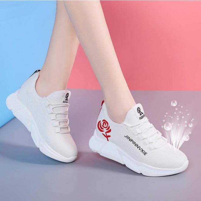 Giày sneaker thể thao nữ buộc dây phong cách hàn quốc V179 giá rẻ