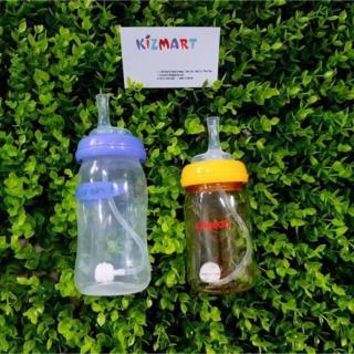 Núm hút cho trẻ lười ti bình (dùng cho bình Pigeon cổ rộng và 1 số bình cổ rộng khác) thumbnail