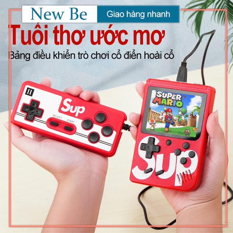 【New Be】Bảng điều khiển trò chơi cầm tay SUP MINI 400 trong 1, Bảng điều khiển trò chơi Sup, bảng điều khiển trò chơi cầm tay (1 máy chủ + 1 bộ điều khiển)