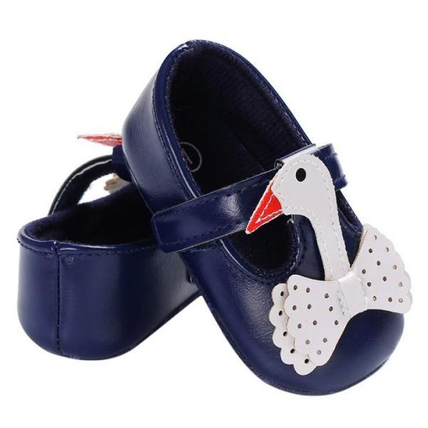 Giá bán Giày tập đi cho bé gái 0-18 tháng hình thiên nga đáng yêu BBShine – TD1