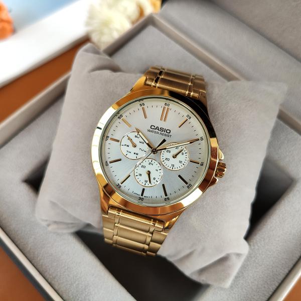 Nơi bán Đồng hồ nam Casio MTP-V300G-7AVDF Mạ vàng sang trọng