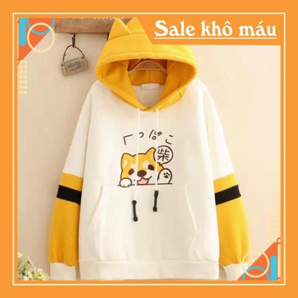 Nơi bán Unisex siêu đẹp Áo khoác nỉ hoodie KN1 Mèo Cute