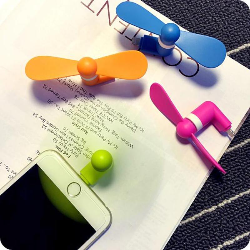 Bảng giá Quạt 2 cánh dùng nguồn dùng cho điện thoại Iphone 5,6,6plus,7plus - Bấm theo dõi shop để đơn hàng có hiệu lực nhé Phong Vũ