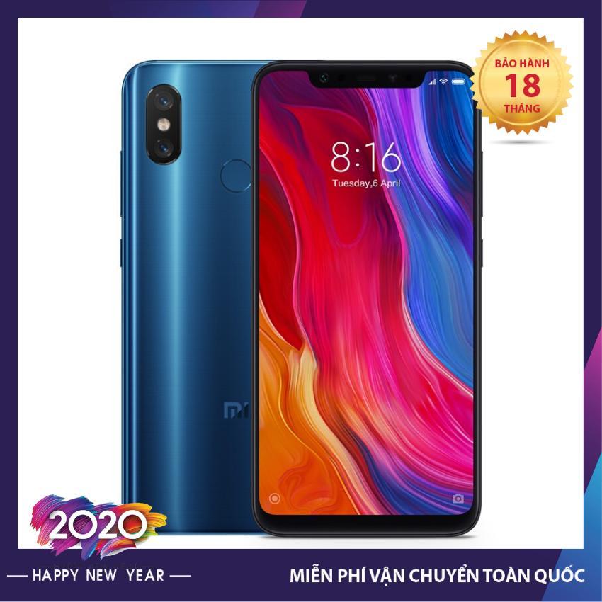 [Bảo hành 18 tháng] Điện Thoại Xiaomi Mi 8 Full Tiếng Việt cấu hình cao 6GB/64Gb chơi game cực mượt, chụp ảnh sắc nét, giá hấp dẫn chưa từng có - Điện Thoại Bán Buôn