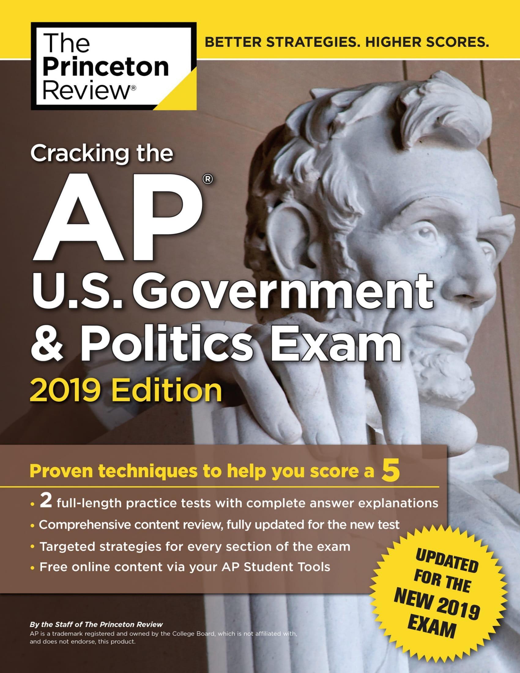 Mua Cracking the AP U.S. Government & Politics Exam, 2019 Edition