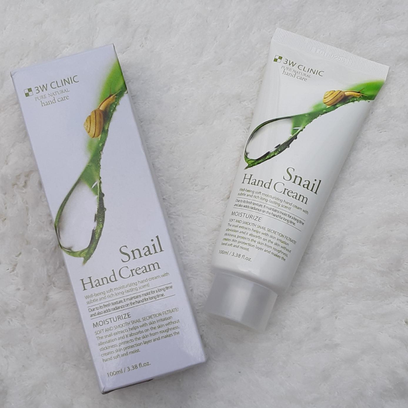 Kem dưỡng da tay Pure Fresh Peach Moisturize Hand Cream 100ml – Hàn Quốc (Snail tốt nhất