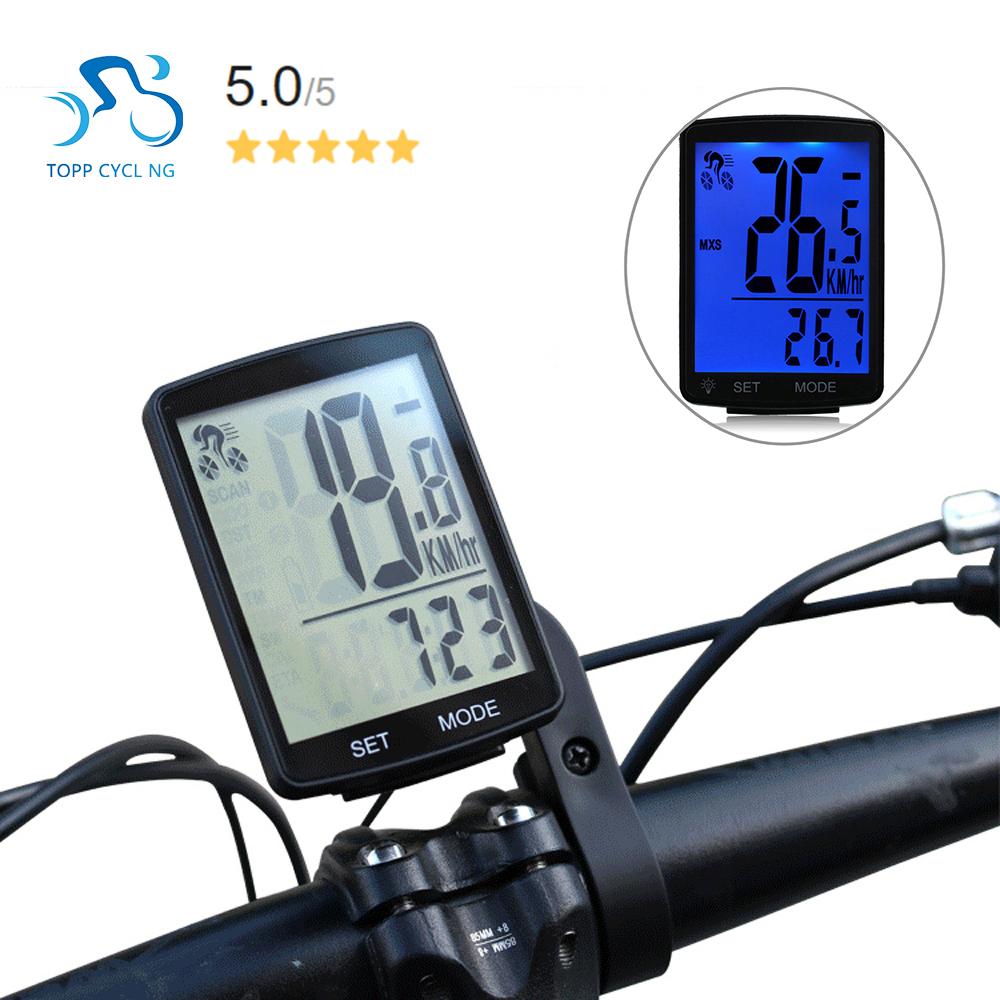 Màn hình LCD không dây đa chức năng dành cho xe đạp chống nước Speedometer Đo Dặm Đi Xe Đạp 2.8inch