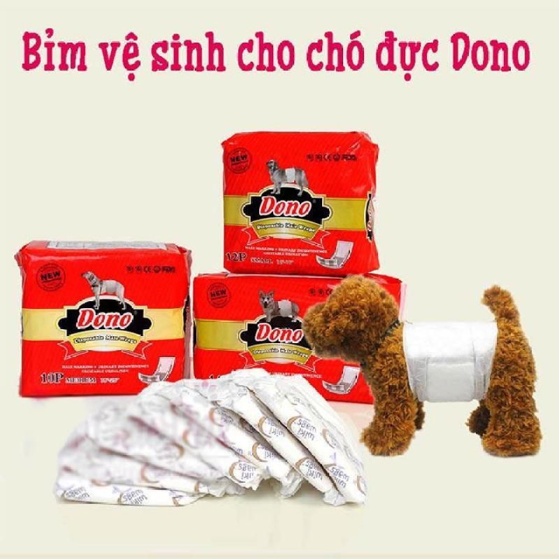 [Bịch] Bỉm vệ sinh cho chó đực DONO - CutePets