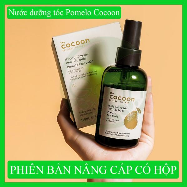 [TÓC MỌC NHANH HƠN] Nước dưỡng tóc tinh dầu bưởi Pomelo Cocoon 140ml nuôi dưỡng tóc từ gốc đến ngọn tốt nhất