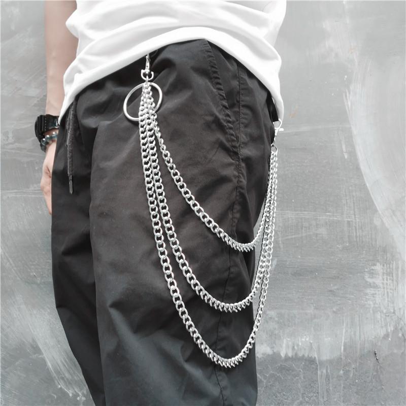 Dây xích đeo  quần phong cách đường phố dành cho nam nữ